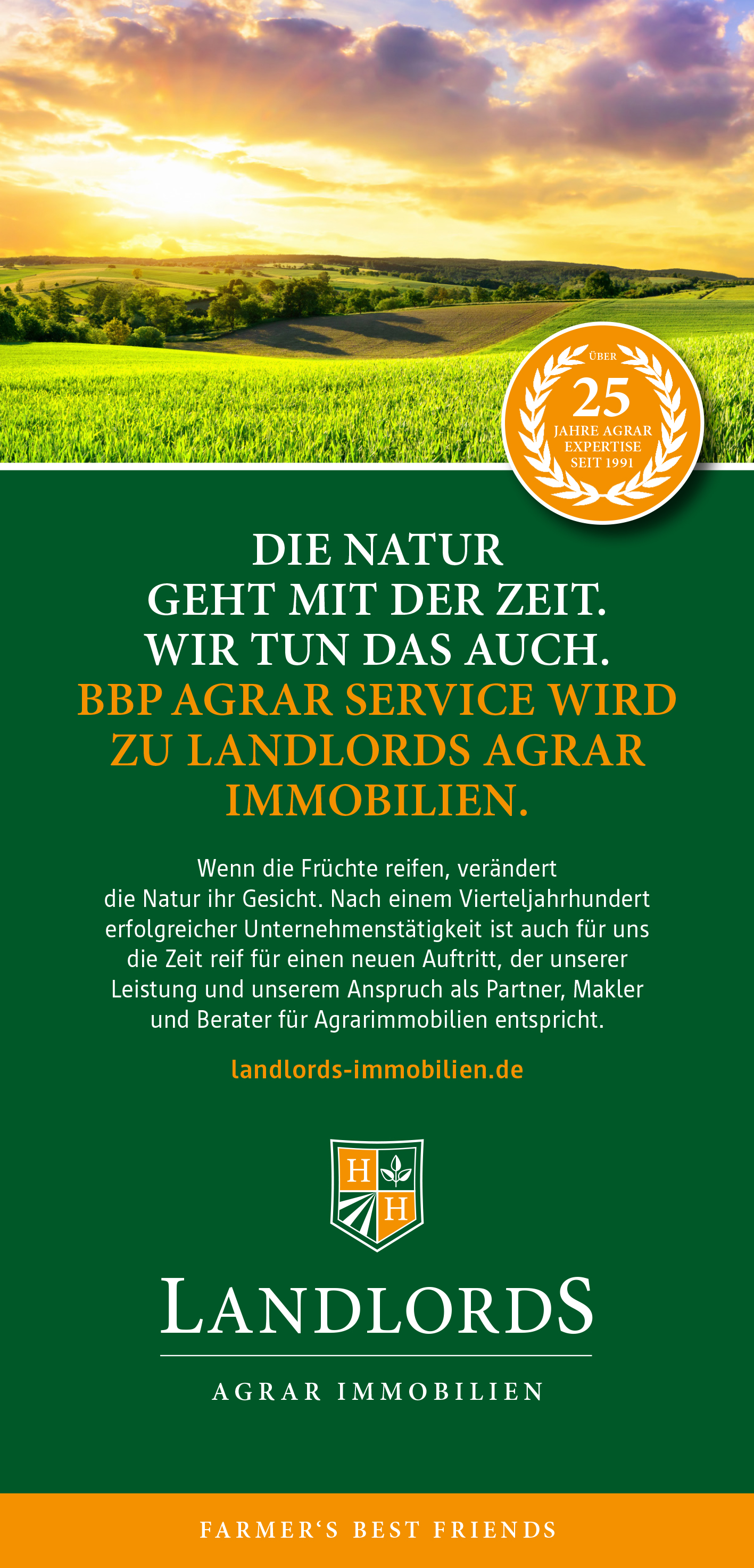 Farmer's Best Friends: BBP Agrar Service wird zu LANDLORDS®