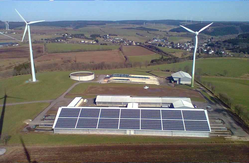LANDLORDS® - Milchhof Hallschlag GbR in der Vulkaneifel mit über 400 Milchkühen und 330 Hektar landwirtschaftlicher Nutzfläche